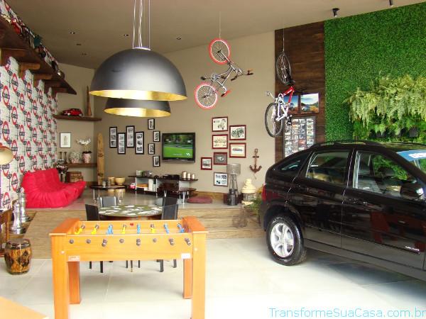 Decoração de garagem - Como fazer 8