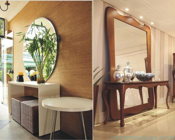 Decoração de hall de entrada – Como fazer 6 dicas de decoração como decorar como organizar