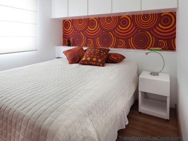 Decoração de paredes com tecido - Como fazer 1