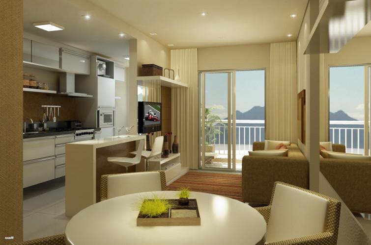 Decoração de sala de apartamento - Como decorar, dicas, fotos, grande, pequeno 4