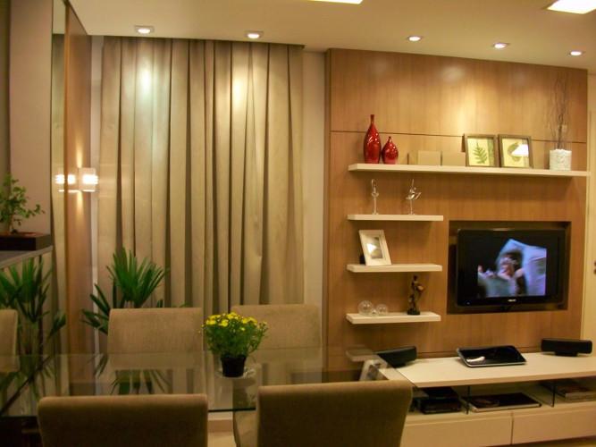 Decora o de sala de apartamento como decorar dicas for Decorar apartamento pequeno fotos
