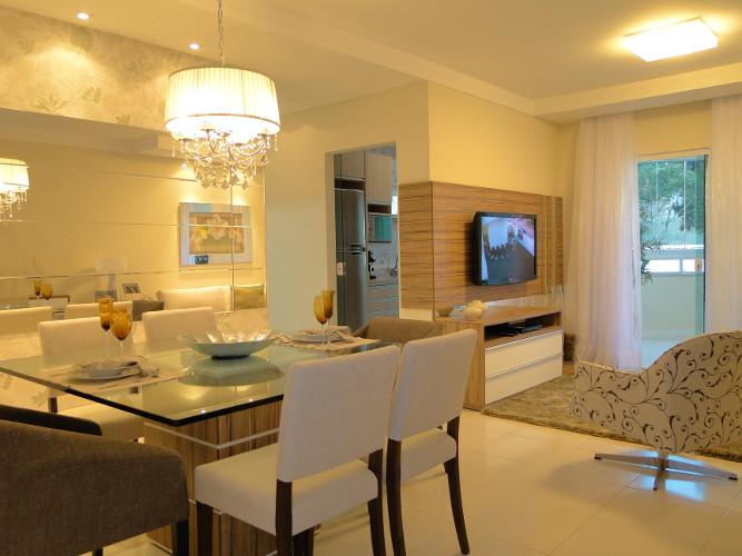 Decora o de sala de apartamento como decorar dicas for Salas modernas pequenas para apartamentos