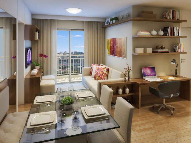 Decoração de sala de apartamento – Como decorar (8) dicas de decoração fotos