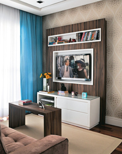 Decoração de sala de apartamento – Como decorar (9) dicas de decoração fotos