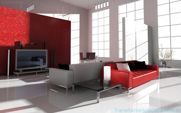 Decoração de salas modernas - Como decorar 8