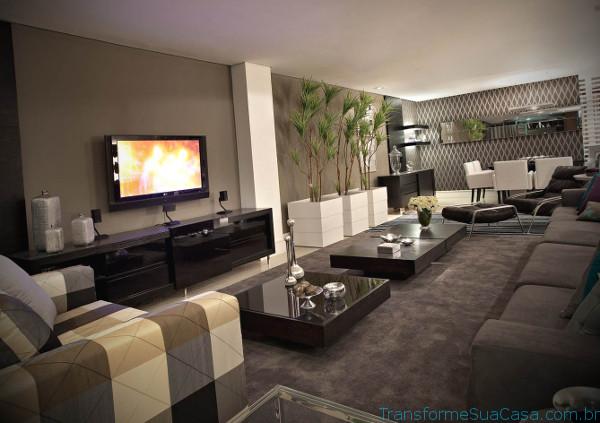 Decoração de salas modernas - Como decorar 6