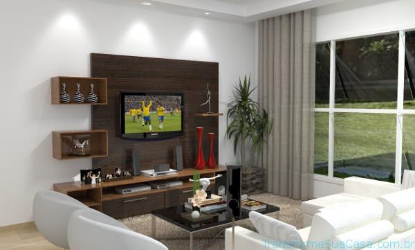 Decoração para sala de tv - Dicas de profissional 9