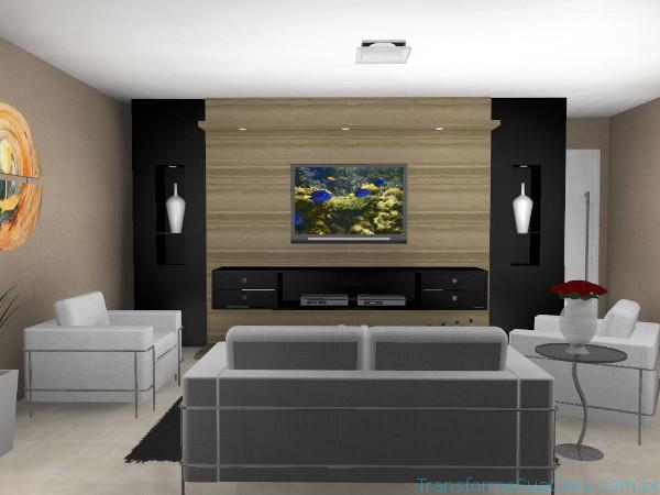 Decoração para sala de tv - Dicas de profissional 8