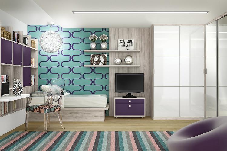Estantes Para Quartos – Como escolher, dicas de decoração (7) dicas de decoração fotos