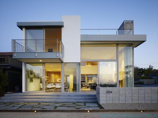 Fachadas modernas como decorar for Ideas para fachadas casas modernas