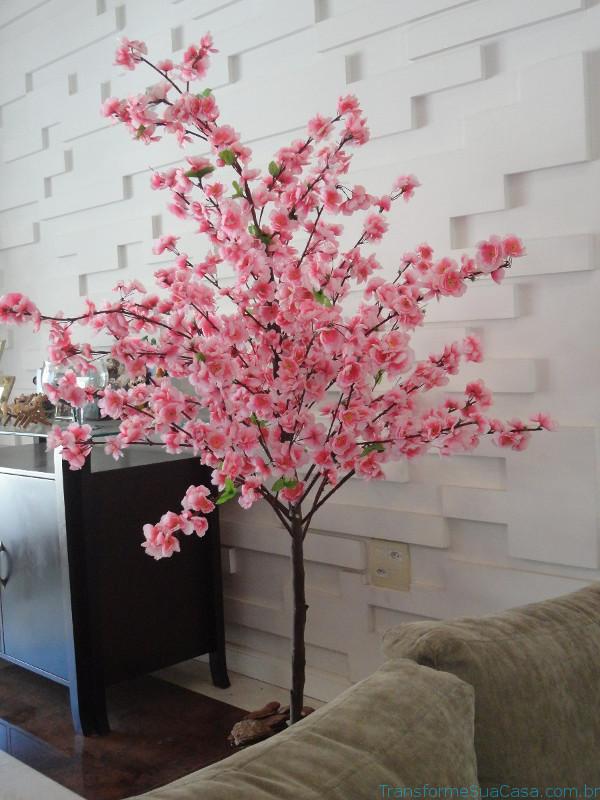 Flores artificiais Como usar