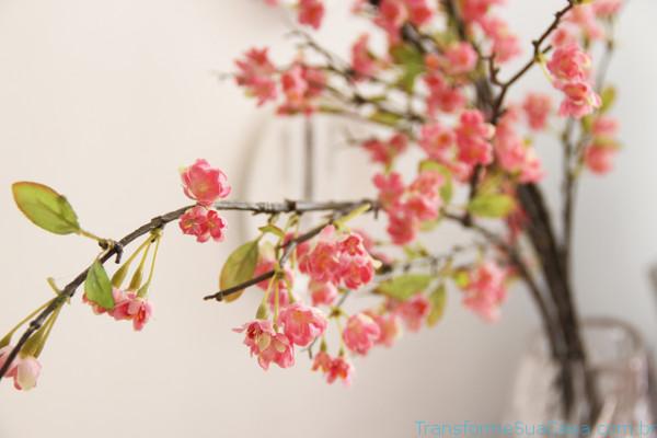 Flores artificiais - Como usar 1