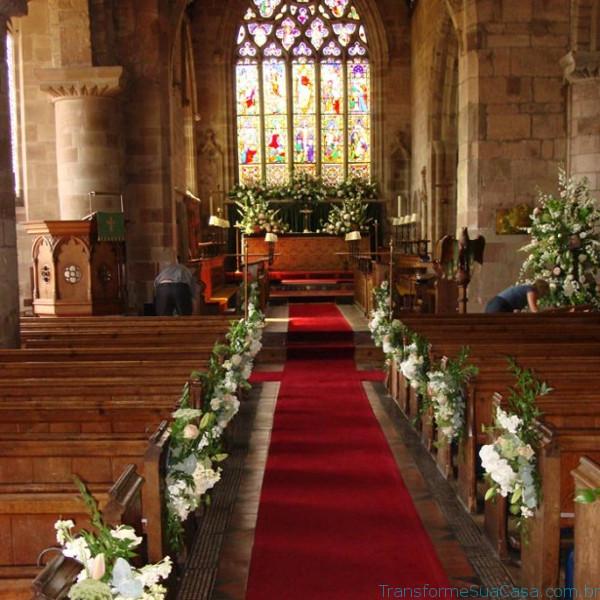 Igreja decorada para casamento - Melhores dicas 3