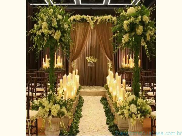Igreja decorada para casamento - Melhores dicas 1