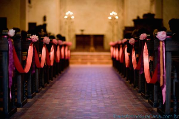 Igreja decorada para casamento - Melhores dicas 4