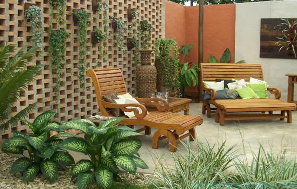 Jardim externo como decorar for Como organizar jardines pequenos