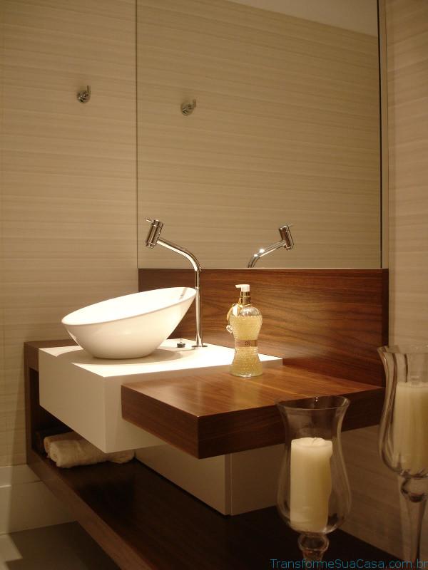 Lavabos modernos – Como decorar (10) dicas de decoração como decorar como organizar