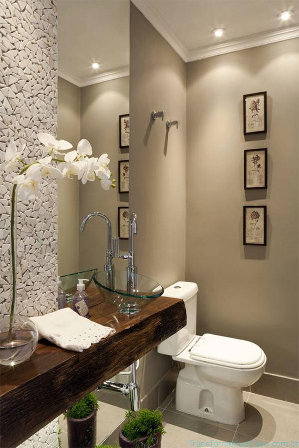 Lavabos modernos – Como decorar (5) dicas de decoração como decorar como organizar
