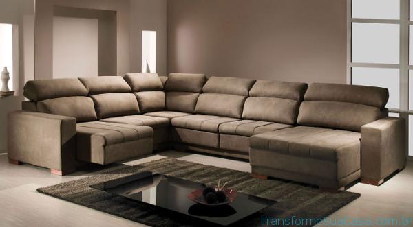 Dicas de decora o de sala simples e barata - Modelos de sofas modernos ...