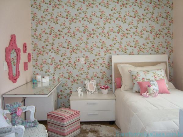 Papéis de parede para quarto – Como escolher 3 dicas de decoração como decorar como organizar