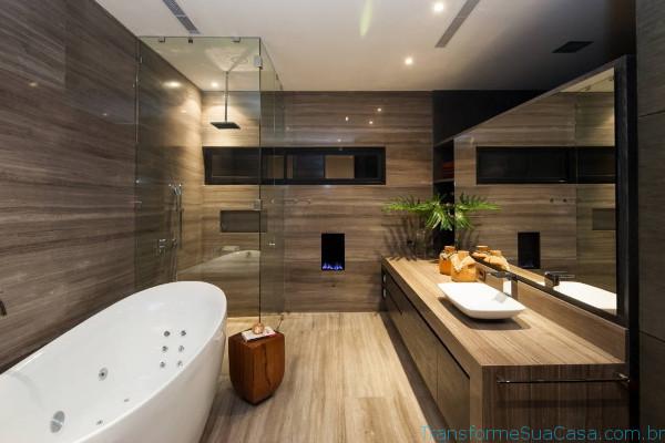 Piso para banheiro – Como escolher (1) dicas de decoração como decorar como organizar