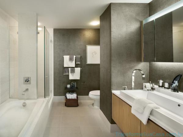 Piso para banheiro – Como escolher (3) dicas de decoração como decorar como organizar