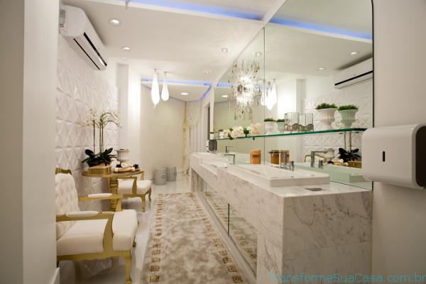 Piso para banheiro – Como escolher (7) dicas de decoração como decorar como organizar