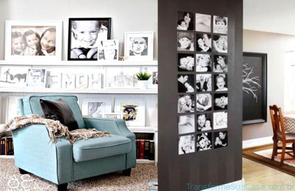 Porta-retratos na decoração - Como usar 1