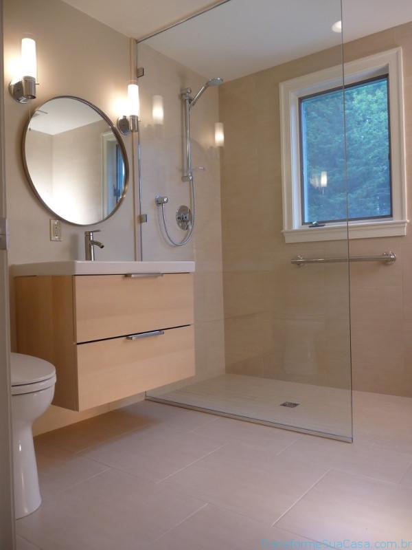 Revestimento para banheiro – Como escolher 1 dicas de decoração como decorar como organizar