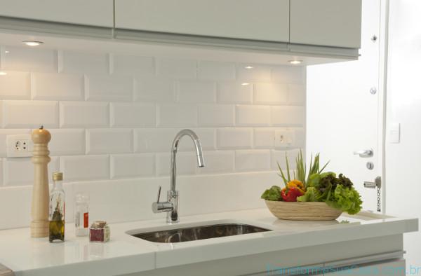 Revestimento para cozinha – Como escolher (8) dicas de decoração como decorar como organizar