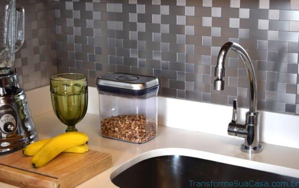 Revestimento para cozinha – Como escolher (9) dicas de decoração como decorar como organizar