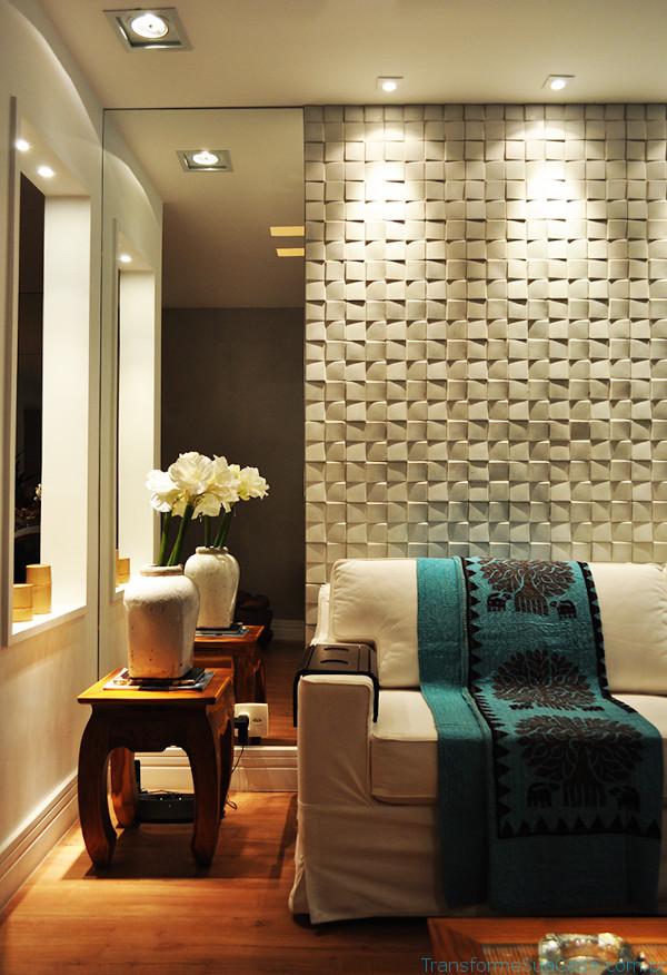Texturas para paredes – Como usar 9 dicas de decoração como decorar como organizar