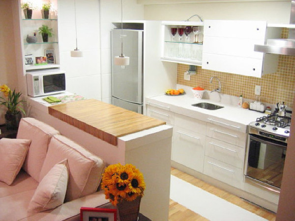 Cozinha americana para casas