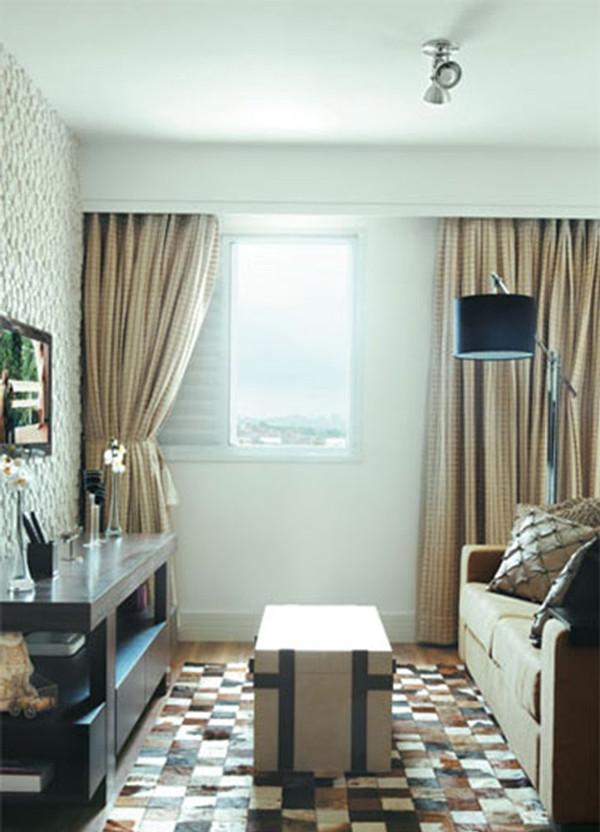 Decoraç u00e3o de sala Simples, barata, fotos, dicas, de tv, pequena, de jantar -> Decoração De Sala De Estar Pequena Simples E Barata