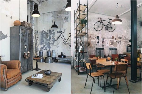 Decoração industrial para casas - Como fazer, dicas, fotos, objetos 1