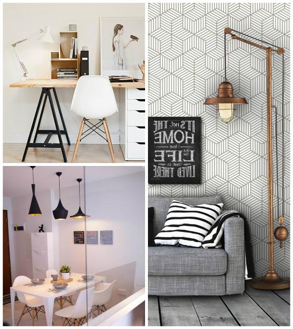 decoração industrial para casas
