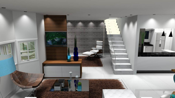 Decoração moderna para sala - Como fazer, dicas 6