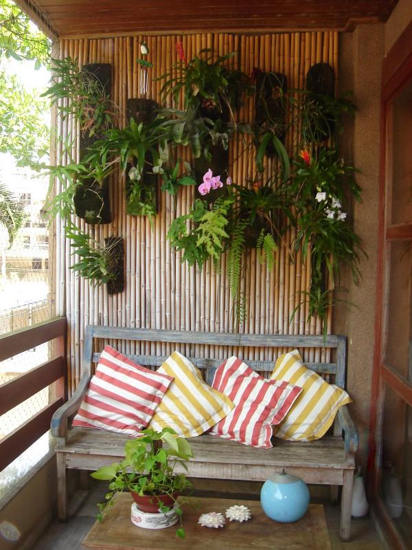 Decoraç u00e3o rústica para varanda Como fazer, dicas, fotos,área externa -> Decoração Para Varanda De Apartamento Simples
