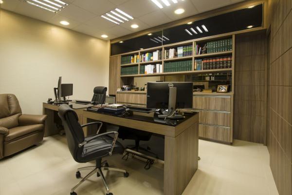 Escritório de advocacia - Como decorar, móveis, fotos, objetos 3