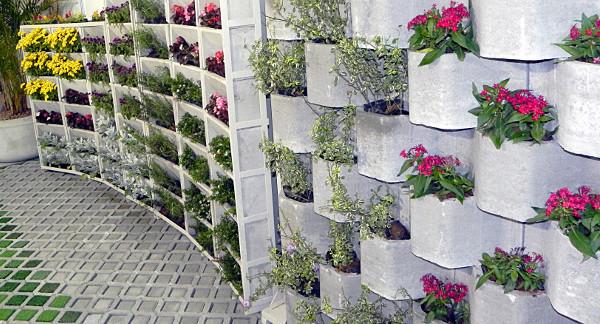 Jardins verticais - Como fazer, como escolher, dicas, fotos 1