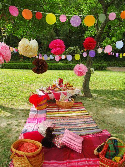 Festa de aniversário piquenique
