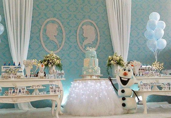 Festa Frozen: dicas e ideias para a decoração! 5