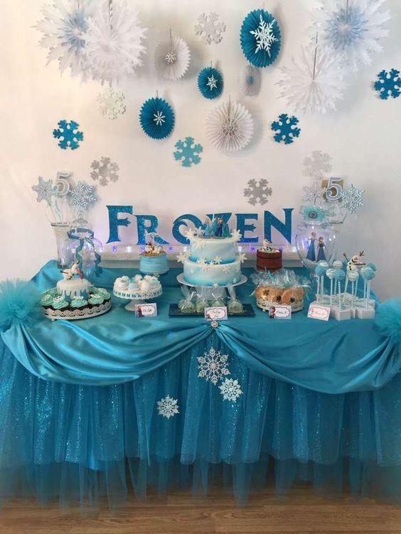 festa frozen decoracao