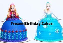 50 ideias de bolo Frozen com Decoração Frozen da Disney 8