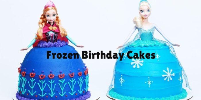50 ideias de bolo Frozen com Decoração Frozen da Disney 1