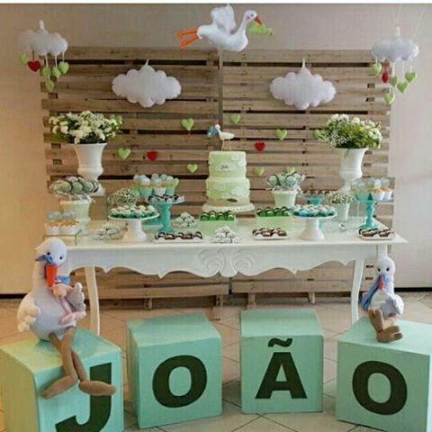 Chá de bebê: decorações e ideias incríveis para você se inspirar! 1