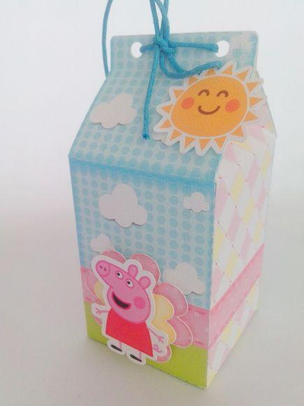 As lembrancinhas da festa infantil Peppa Pig