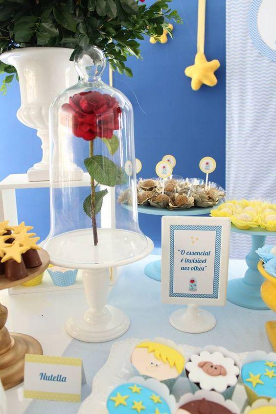 Festa Pequeno Príncipe: a decoração da mesa