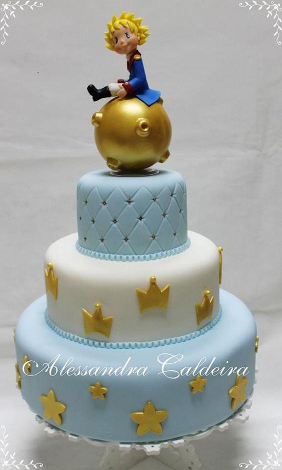 Festa Pequeno Príncipe: o bolo