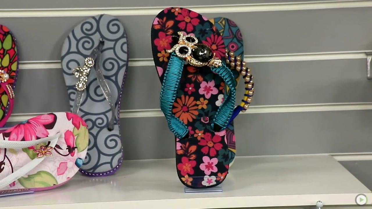 Tudo o que você queria saber sobre chinelos decorados! 1